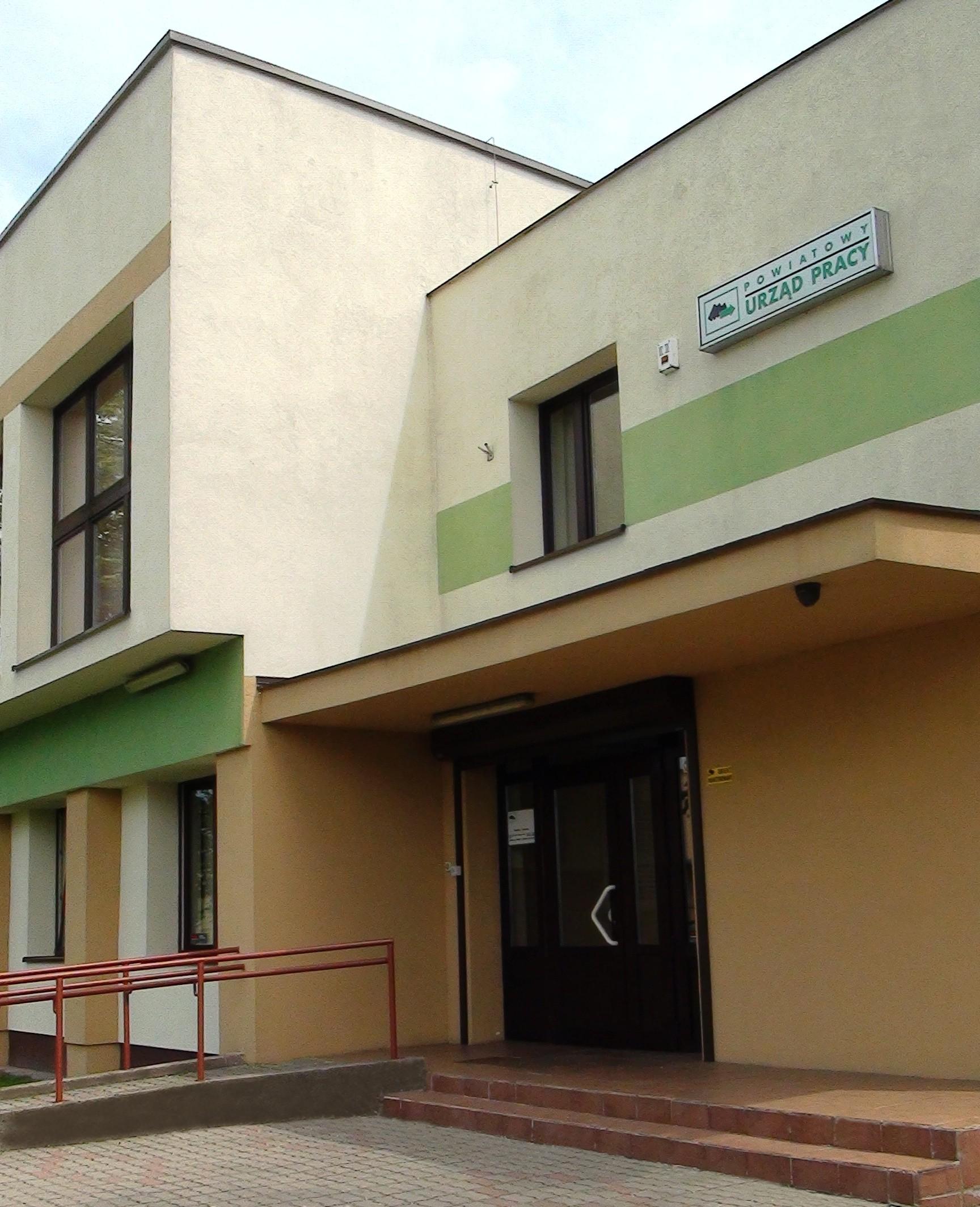 Budynek Powiatowego Urzędu Pracy w Rypinie